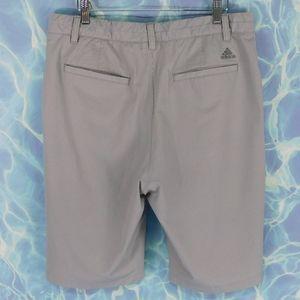 Adidas flat front men's shorts. 34
